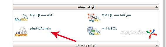 cpanel phpmyadmin block ar